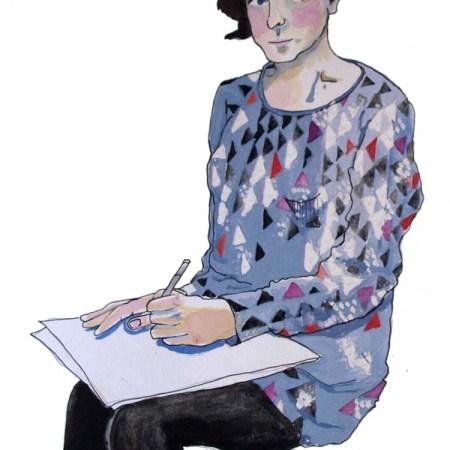 Gudrun Sjoden tunic by Myfanwy Tristram