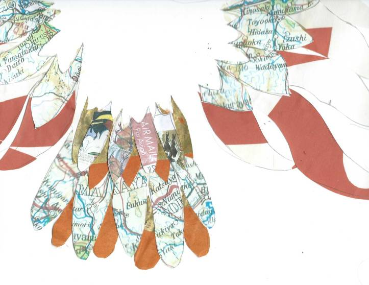 Fevvers by Myfanwy Tristram