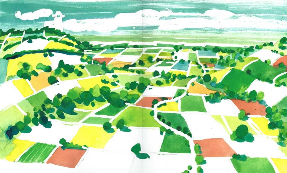 Landscape by Myfanwy Tristram