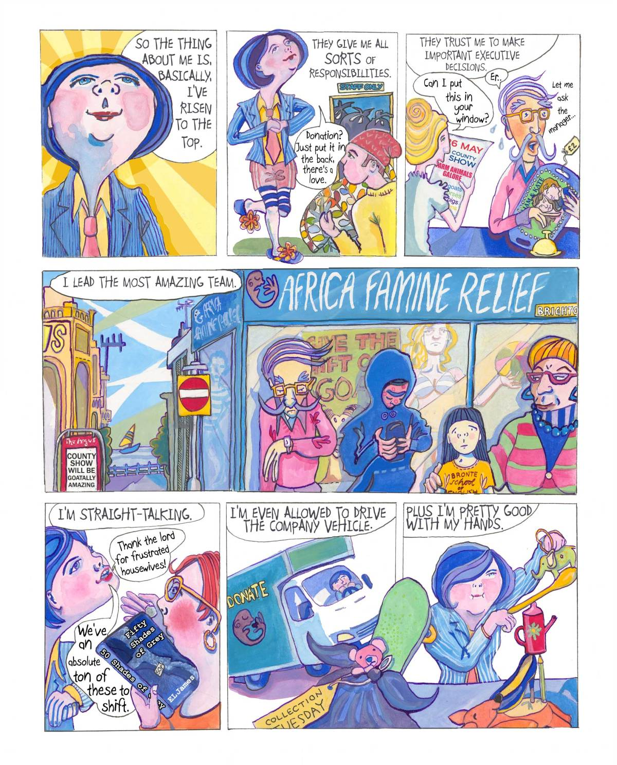 Overstock by Myfanwy Tristram page 1