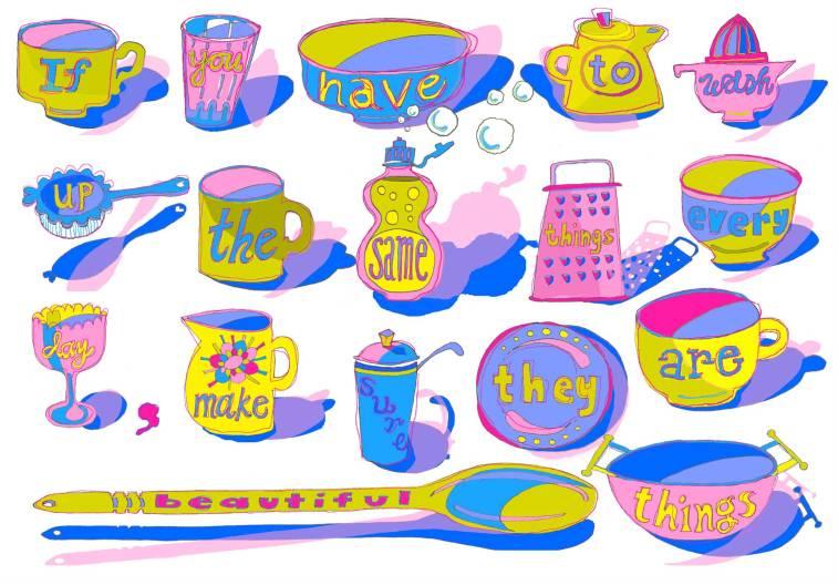 Washing Up by Myfanwy Tristram