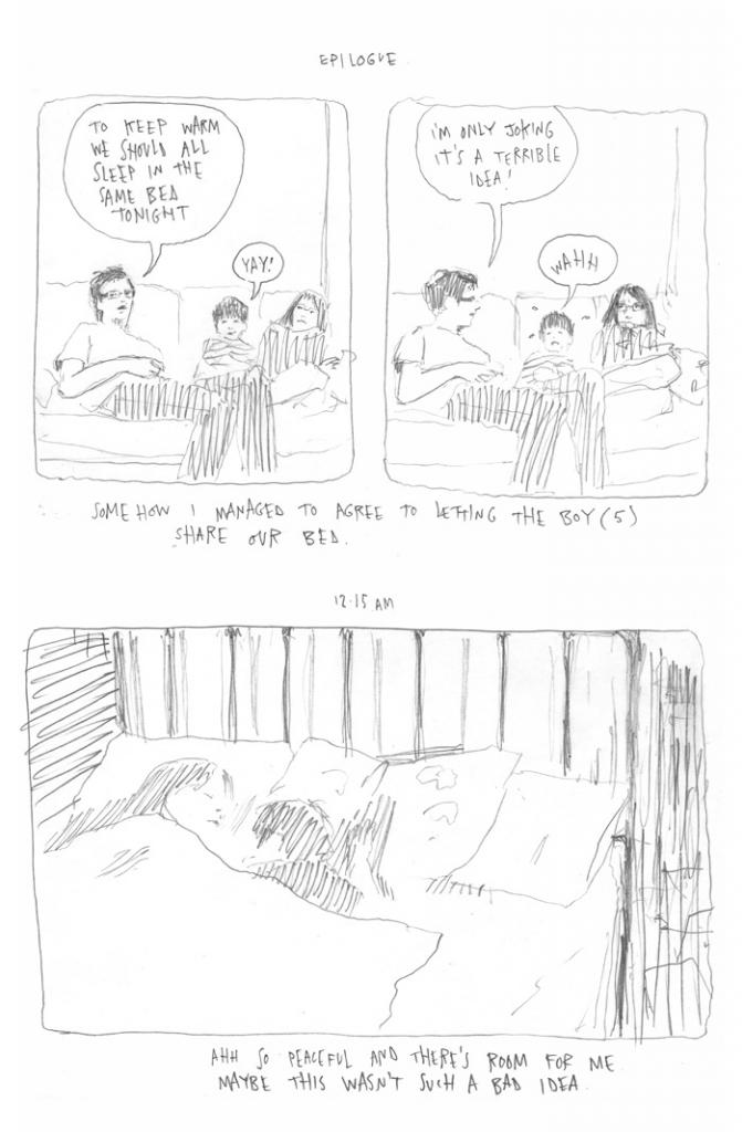 Joe Decie's Hourly Comics day