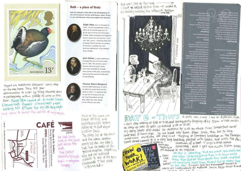 Bath diary by Myfanwy Tristram