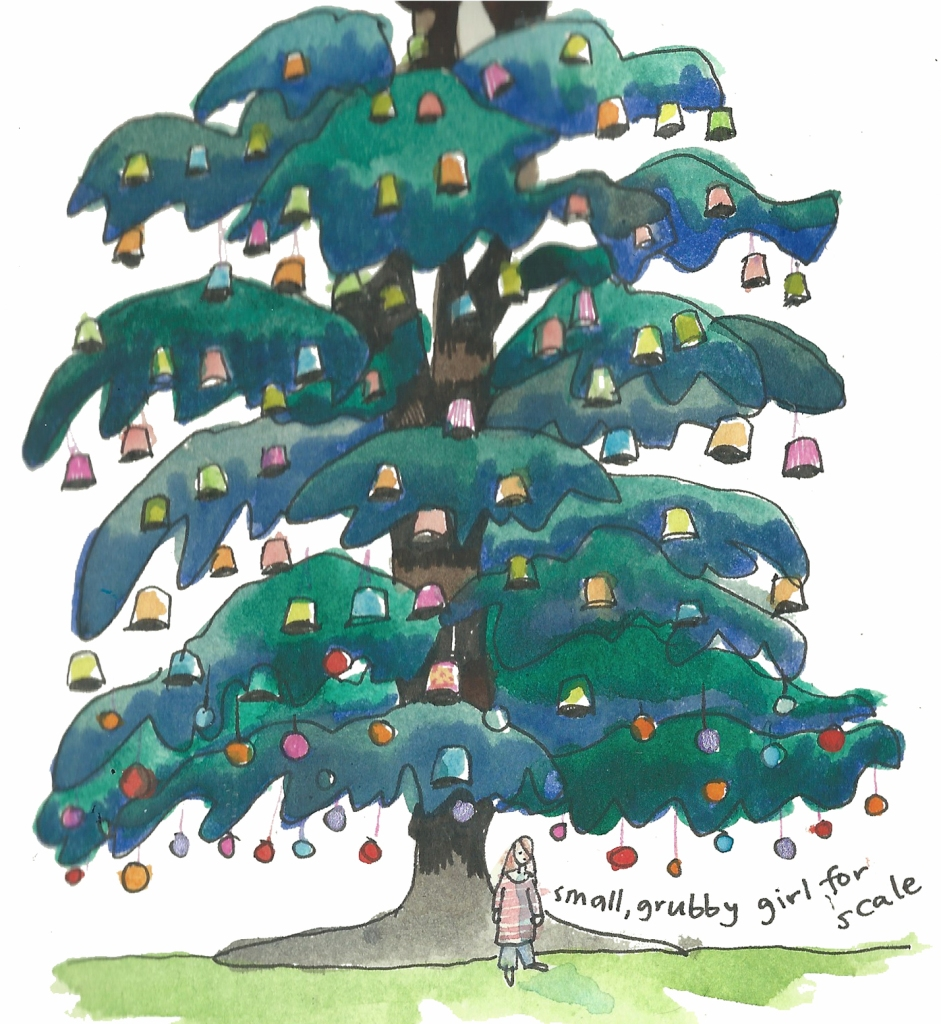 Tree by Myfanwy Tristram