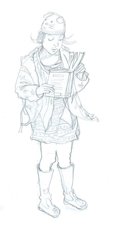 PencilT by Myfanwy Tristram