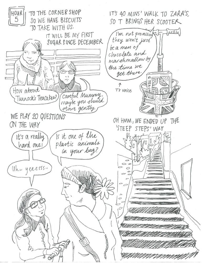 Myfanwy Tristram Hourly Comic Day 2015