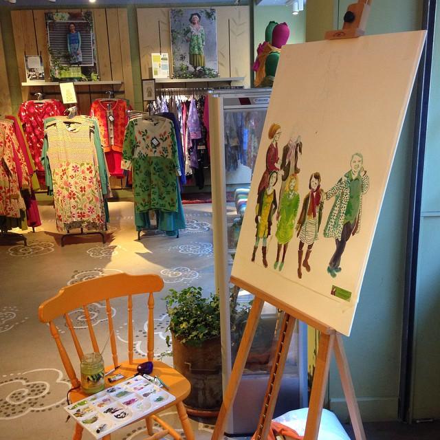 gudrun shop by Myfanwy Tristram