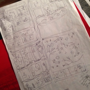 Scratch thumbnails by Myfanwy Tristram