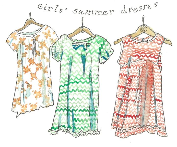 summer dresses by Myfawy Tristram