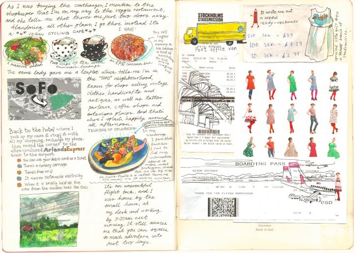Stockholm Diary p6 Myfanwy Tristram