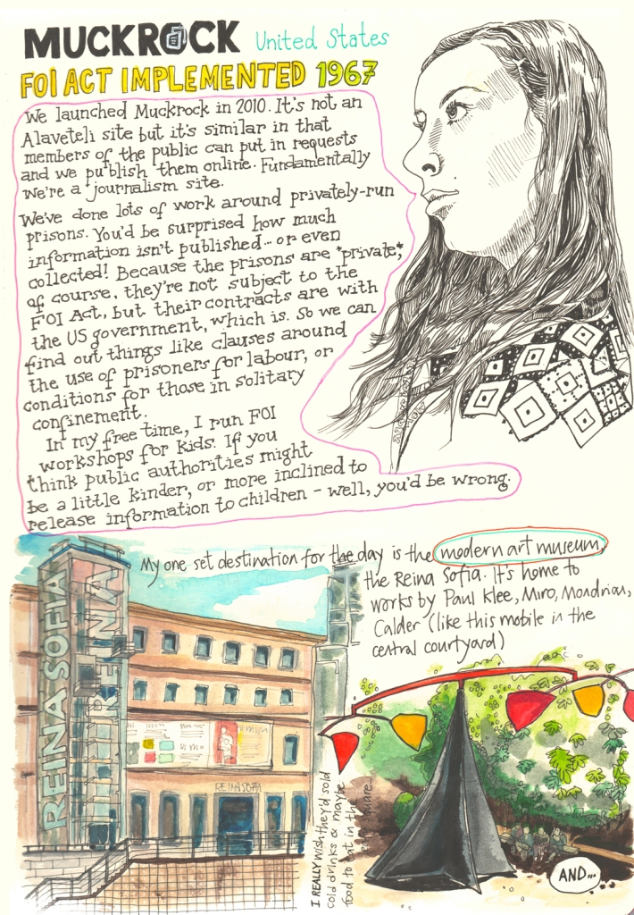 p22 Alaveteli sketch diary by Myfanwy Tristram