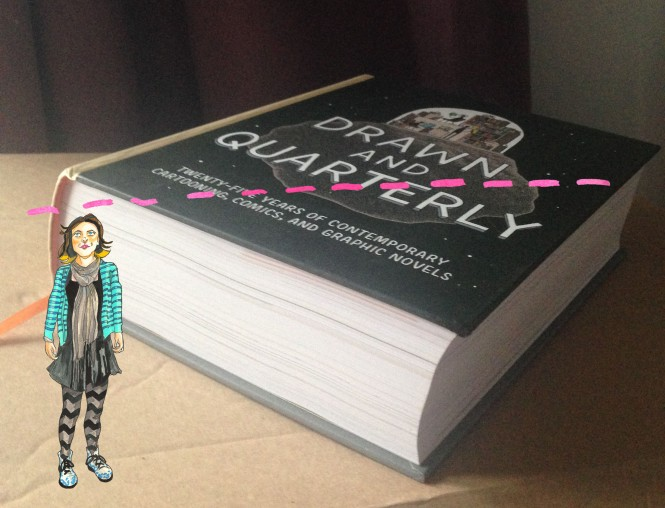 Drawn and Quarterly 25 years: actual size