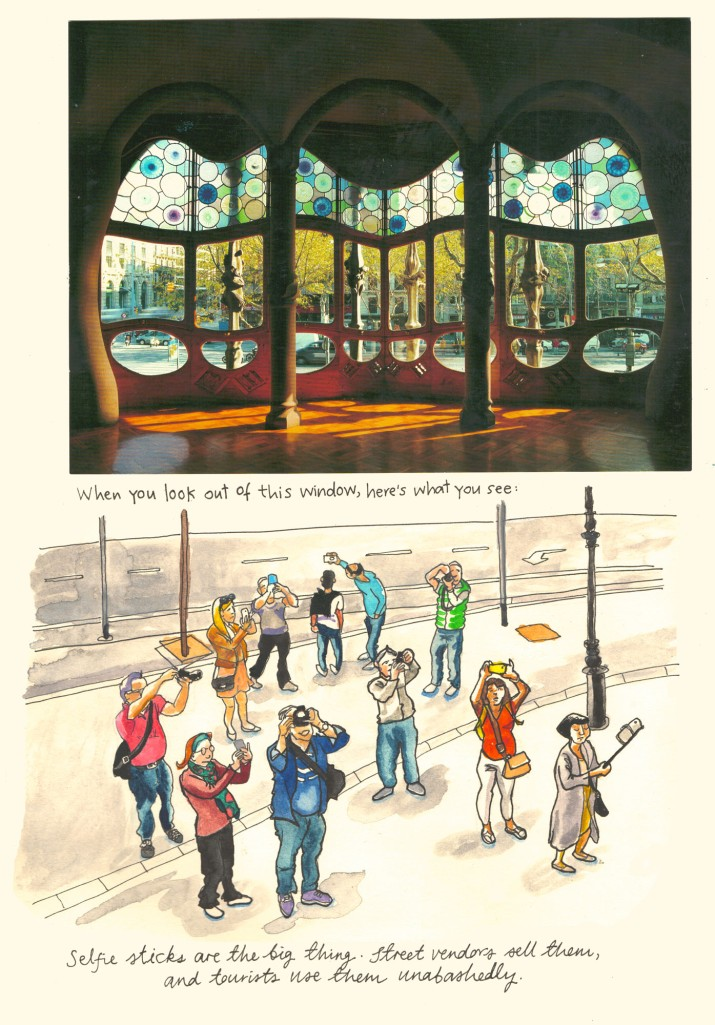 Barcelona sketch diary by Myfanwy Tristram - page 6