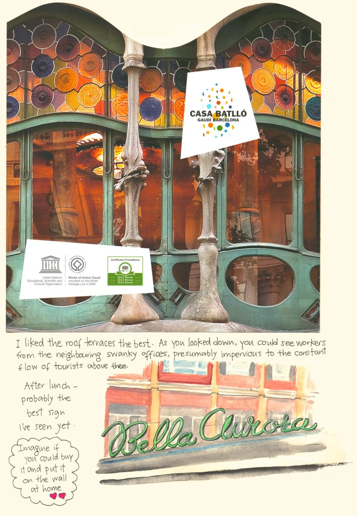 Barcelona sketch diary by Myfanwy Tristram - page 7