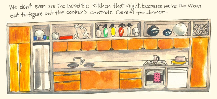 Barcelona sketch diary by Myfanwy Tristram page 5