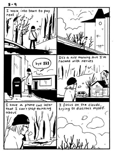 Tillie Walden Hourly Comic Day