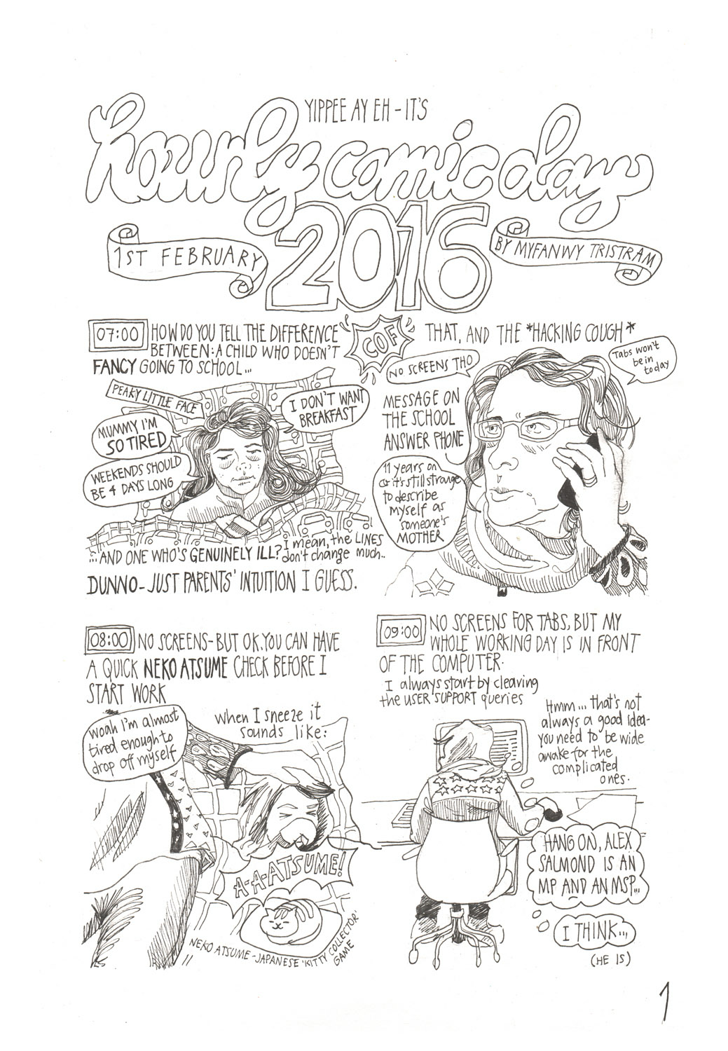 Hourly Comic Day 2016 by Myfanwy Tristram p1