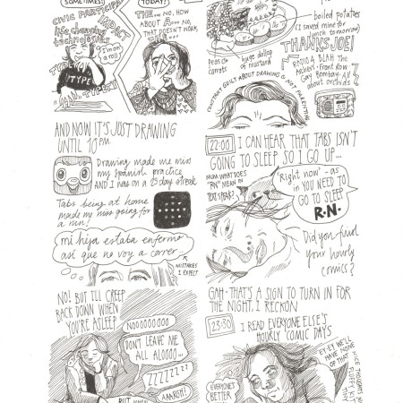 Hourly Comic Day 2016 by Myfanwy Tristram p4