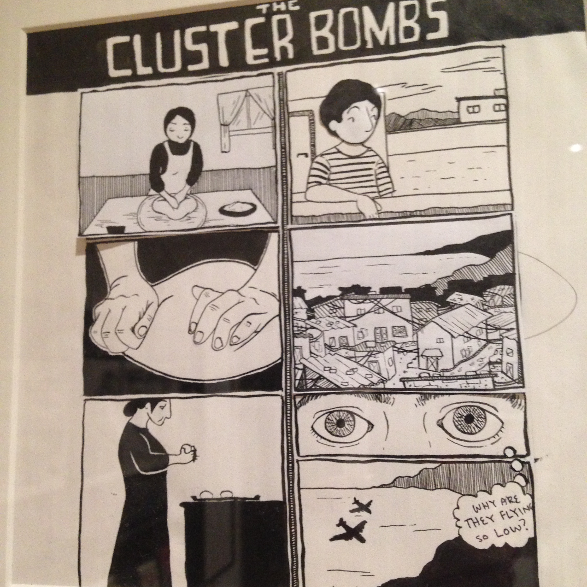 Cluster Bombs by Leila Abdelrazaq