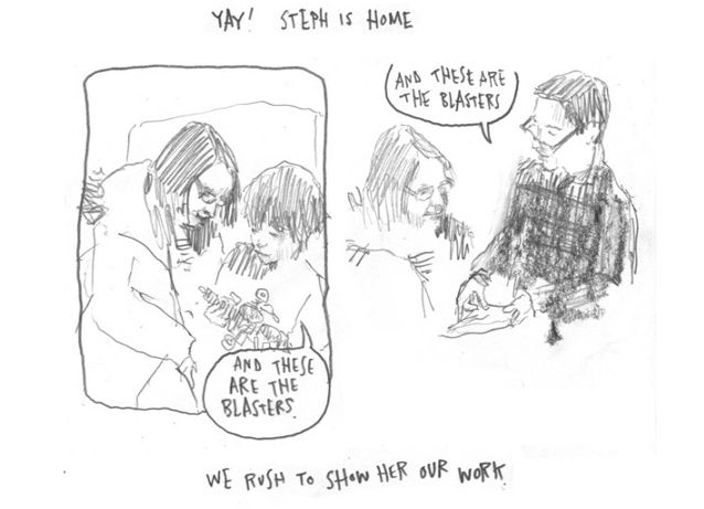 Joe Decie Hourly Comic Day