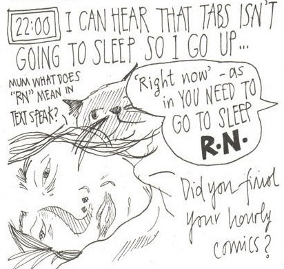myfanwy tristram Hourly Comic day 2016