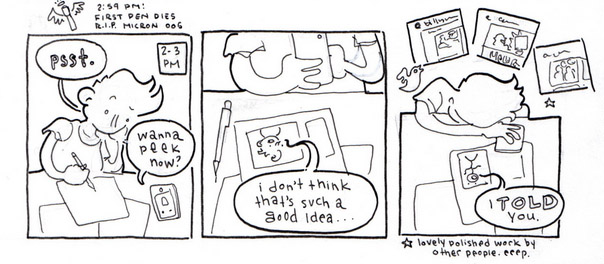 Sleepless Beekeper Hourly Comic Day