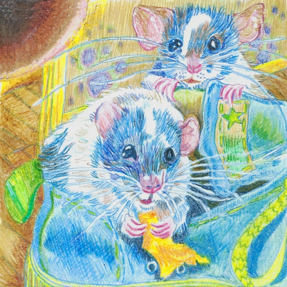 rats-drawn-in-pencil-crayon-by-myfanwy-tristram-scan-showing-errors