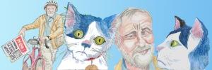 Corbyn and el Gato header by Myfanwy Tristram
