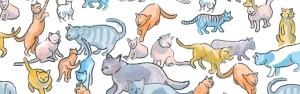 herding cats banner image by Myfanwy Tristram