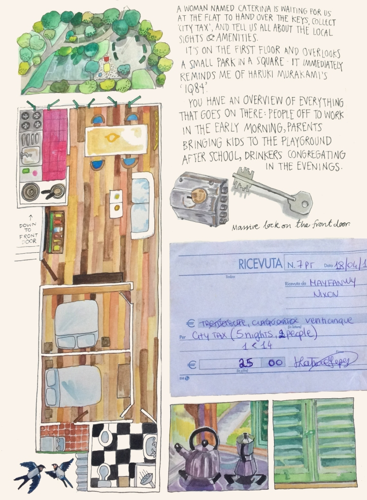 Florence diary by Myfanwy Tristram