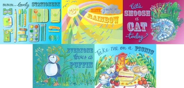 Myfanwy Tristram cards