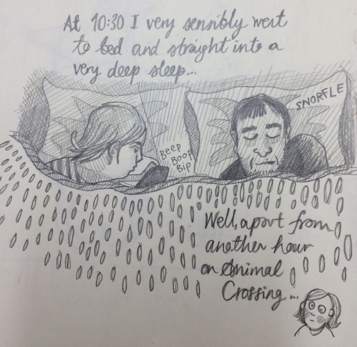 Hourly Comic Day 10.30pm Myfanwy Tristram