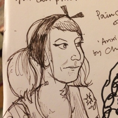 Sketch of a participant