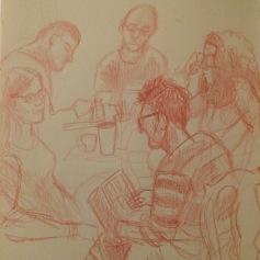 More sketching