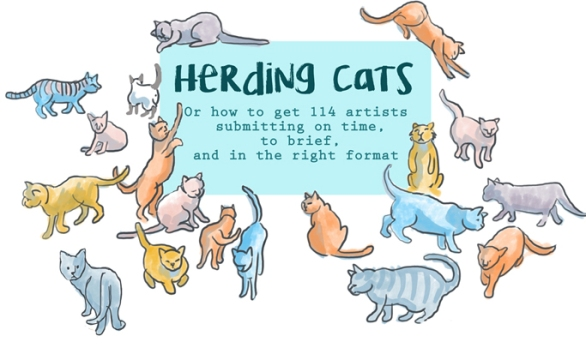 Herding Cats by Myfanwy Tristram