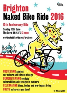 Mike Levy Naked bike ride