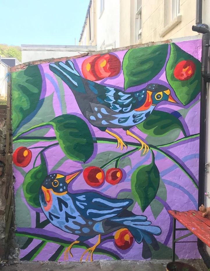 Mural by Myfanwy Tristram