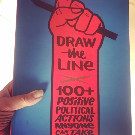 Draw The Line, the book