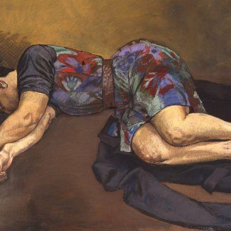 Sleeper by Paula Rego